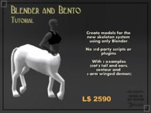 Blender and Bento Tutorial