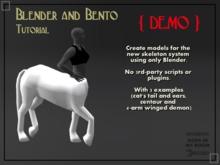 {DEMO} Blender and Bento Tutorial