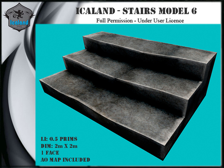 Icaland - Stairs Model 6