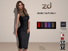 *ZD* Nicole Mesh Dress
