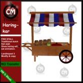! CM Creations, Fish Stall - Haringkar