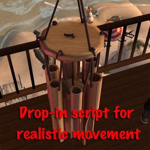 Bamboo Chimes / Wind Chimes drop-in script