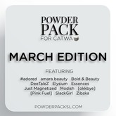 Powder Pack for Catwa March Edition