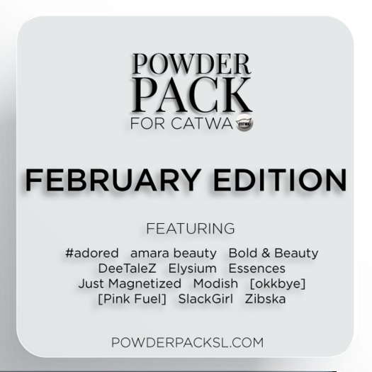 Powder Pack for Catwa February Edition