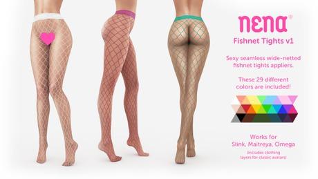 {Nena} Fishnet Tights v1 (Appliers)