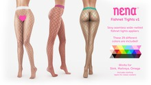 {Nena} Fishnet Tights v1 (Appliers)