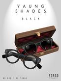 *  SORGO - YAUNG Shades / BLACK (add me)