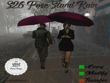 S26 Pose Stand Rain