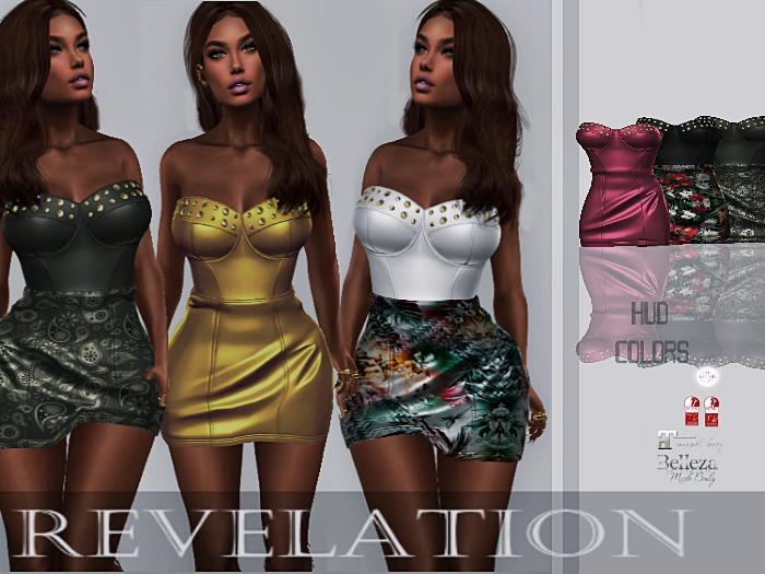 :::Revelation::: Hannah Dress COLORS