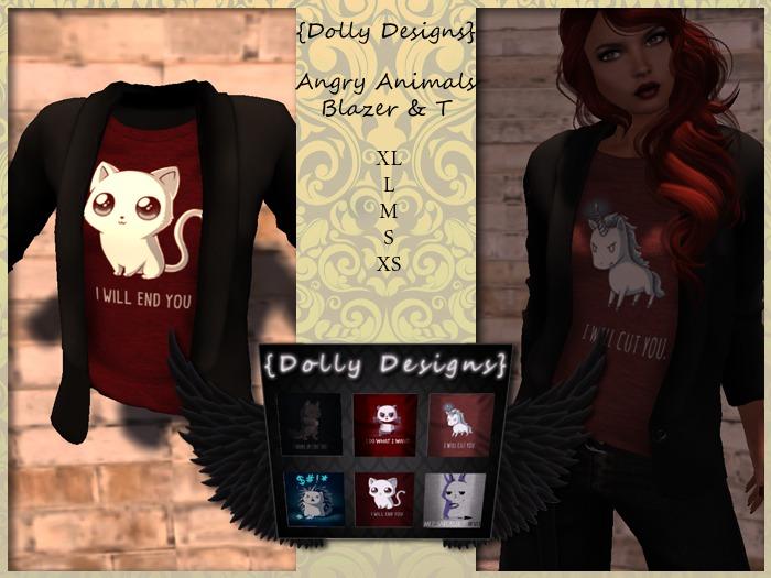 {DD} Angry Animals Blazer & Shirt