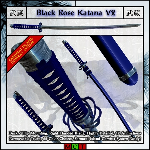 Musashi Blades - Black Rose Katana V4.2