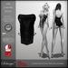 Solange! - Silk Camisk - BLACK