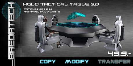 Breda Tech Holo Tactical Table 3.0 Box