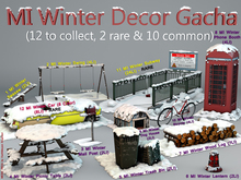 MADRAS Winter Decor Gacha MarketPlace Box (Rez and Click)