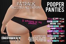 !NFINITY Pooper Panties - FATPACK