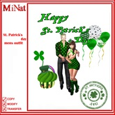 MiNat St. Patrick's day mens outfit