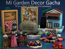 MADRAS Garden Decor Gacha Marketplace Box (Rez and Click)
