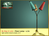 Bliensen + MaiTai - Be Bop A Lula - retro 1950s Floor Lamp
