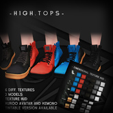 -Dimensional High-Tops