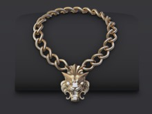 ::OESSO::LION Male Necklace
