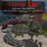 Inochi Reef : Mesh Turtle - Green Sea Turtle