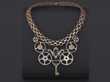 ::OESSO::Steampunk women necklace