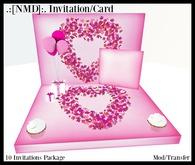 .:[NMD]:. Invitations Pink Box