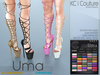-KC- UMA BOOTS / MAITREYA, BELLEZA, SLINK, HOURGLASS, PHYSIQUE