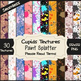 *Cupids Textures * 30 PAINT SPLATTER
