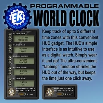 ER World Clock HUD