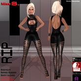 Miss S. Bodysuit Rip black