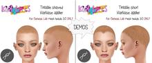 [KoKoLoReS] Tintable Hairbases for Genesis Lab 3.0 mesh head - DEMO