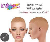 [KoKoLoReS] Tintable shaved Hairbase /GenesisLab 3.0 - wear me!