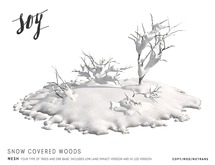 Soy. Snow Covered Woods Set [addme]