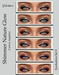 Yokami~Shimmer Nature Glow Eyeshadow Set#1