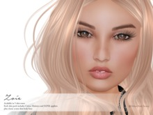 Deluxe Body Factory, Zoie skin, Catwa, SLINK and Maitreya appliers, all skin tones, DEMO