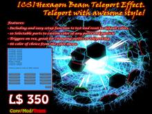 [CS] Hexagon Beam Teleport Effect