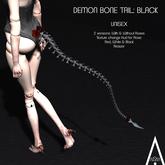 .AiShA. Demon Bone Tail Black