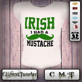 [C.U.Next.Tuesday]  SP:  Irish Mustache      - Fast Mesh Tee