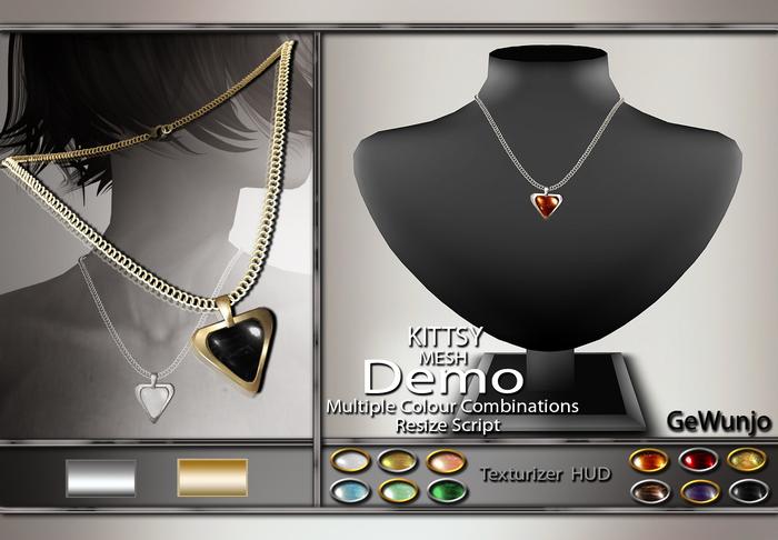 GeWunjo : KITTSY necklace DEMO