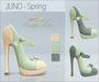 Amacci Shoes - Juno - Spring (Maitreya, Slink, Belleza)