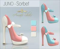 Amacci Shoes - Juno - Sorbet (Maitreya, Slink, Belleza) - Gift!