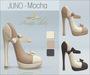 Amacci Shoes - Juno - Mocha (Maitreya, Slink, Belleza)