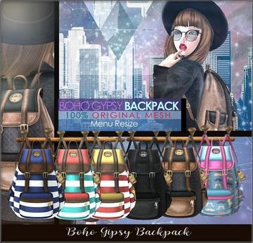NS::  BOHO GYPSY BACKPACK