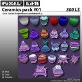 Sculpted Ceramics pack #01 by Cel Edman