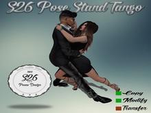 s26 pose stand tango
