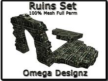 Ruins  Set 100% Mesh Full Perm