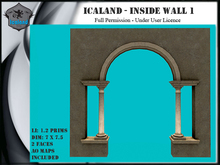 Icaland - Inside wall 1