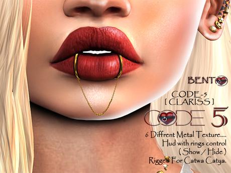 CODE-5 BENTO [ Clariss Piercing ]