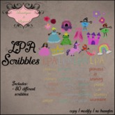 Tiny Tiaras Bowtique - LPA Wall Scribbles